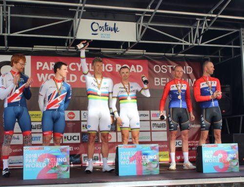 Zawody Pucharu Świata w kolarstwie szosowym w Ostendzie – trzy medale Polaków w czasówce