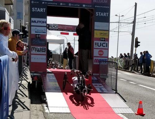 Zawody Pucharu Świata w kolarstwie szosowym w Ostendzie – w jeździe indywidualnej na czas Polacy na handbike'ach poza podium.