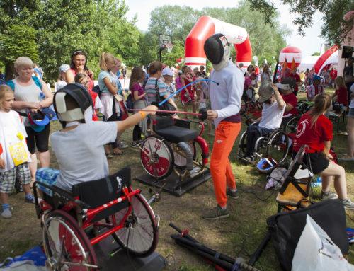 Paraolimpijczycy zachwycili Warszawiaków podczas 20. Pikniku Olimpijskiego