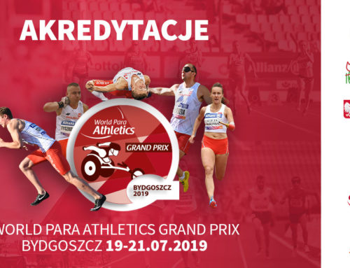 Rusza proces akredytacji na bydgoskie World Para Athletics Grand Prix!