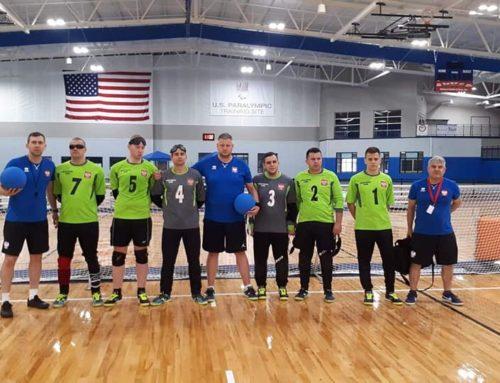 Goalball: Polacy walczyli w Fort Wayne o igrzyska w Tokio