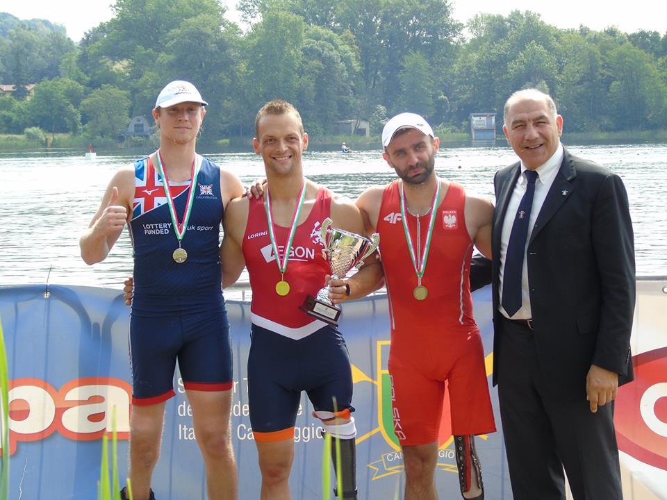 Cztery medale Polaków podczas międzynarodowych regat 12 Gavirate International Para-Rowing
