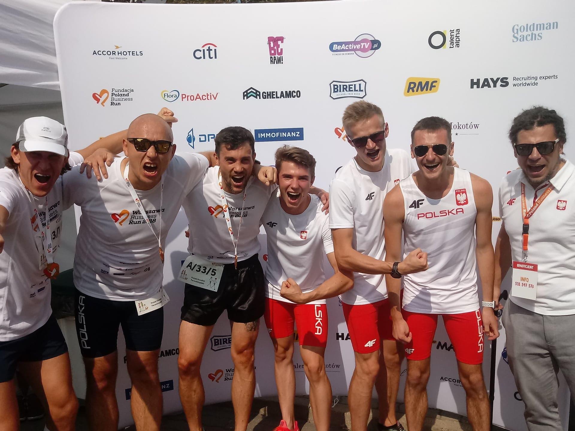 Poland Business Run – nasza sztafeta w pierwszej dziesiątce!