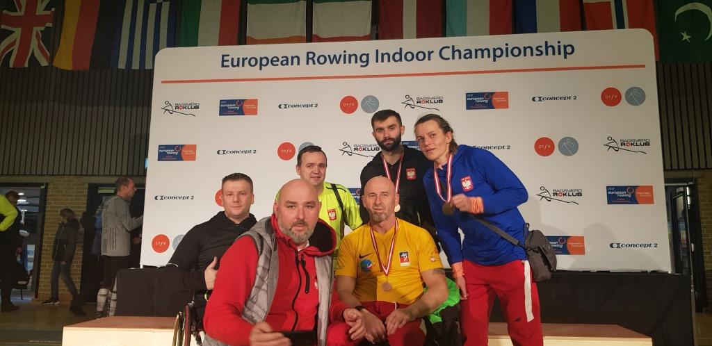 ME na ergometrze wioślarskim: 6 medali Polaków!