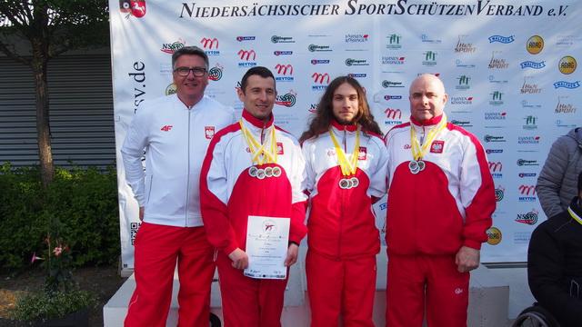 Cztery medale strzelców z niepełnosprawnościami w Hanowerze!