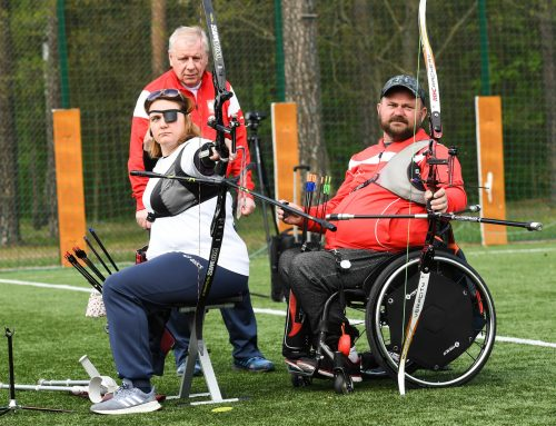Paraolimpijczycy trenują w COS!