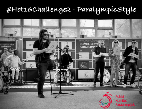 #Hot16Challenge2 – ParalympicStyle!
