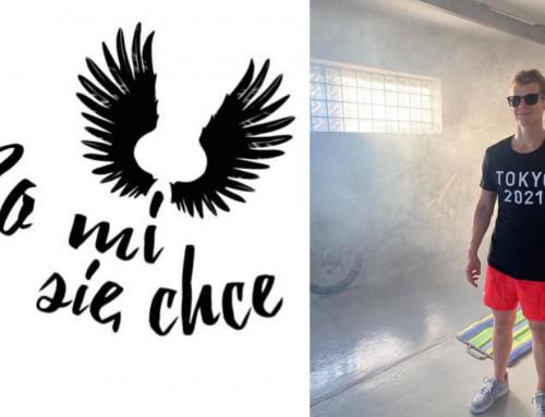 """Ruszyła akcja społeczna """"Bo mi się chce"""", pływaka Wojtka Makowskiego we współpracy z Sound'n'Grace"""