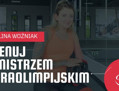 Ćwicz z mistrzem paraolimpijskim. Trenuj z Pauliną Woźniak!