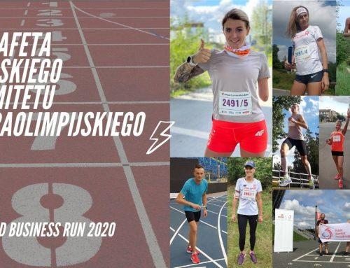 Dwie sztafety Polskiego Komitetu Paraolimpijskiego w Poland Business Run!
